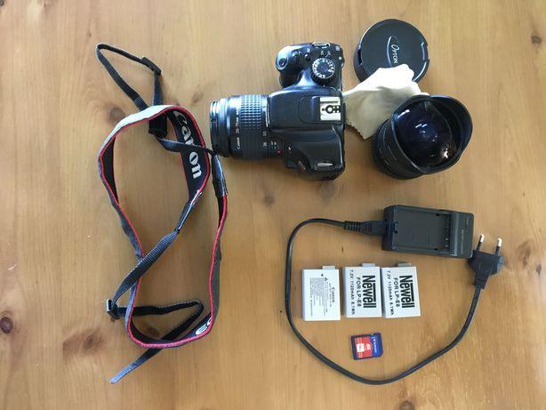 Canon Kiss x4 / 550D + 2 obiektywy