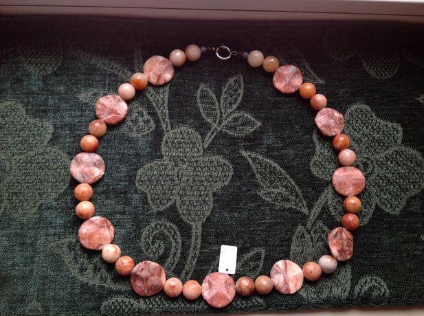 Ожерелье бусы намисто из натурального камня