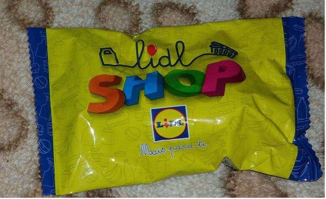 coleçao lidl - figuras – supermercado