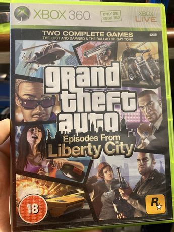 GTA Episode From Liberty City Xbox 360