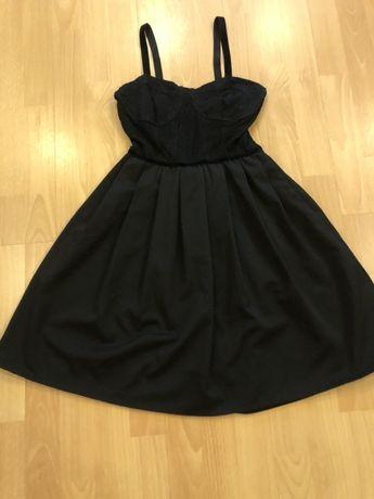 Платье нарядное черное платье Zara