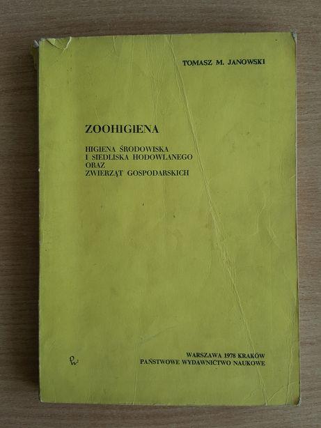"""""""ZOOHIGIENA"""" Janowski, higiena środowiska i siedliska hod. i zwierząt"""