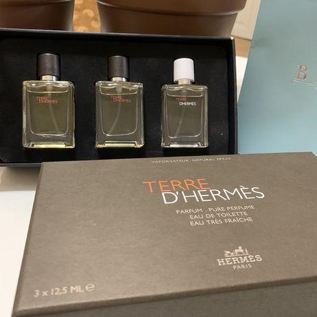 Подарочный набор мужчине Hermes Terre Гермес духи