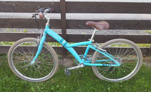 """Rower dziecięcy 24"""" (24 cale) B'twin Poply 300"""