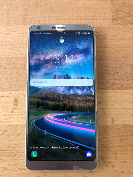 LG G6 Thinq 32 GB 4 GB Ramu Pudełko i Ładowarka
