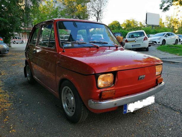 Maluch Fiat 126p 600cm3, 1977