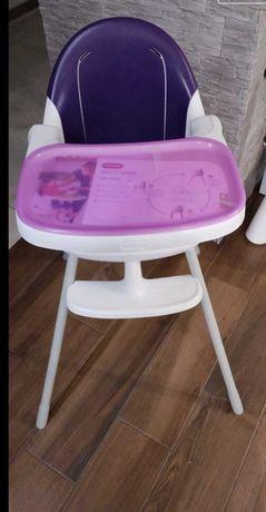KETER krzesło do karmienia 3w1 fiolet /nowe