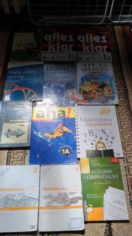 Książki ,Atlasy , Ćwiczenia