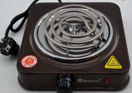 Плита электрическая однокомфорочная Domotec MS-5801 электроплита 1000W Киев - изображение 1