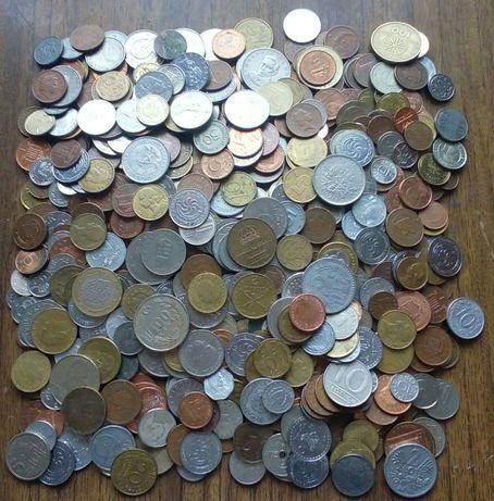 1000 монет стран мира, без России, СССР, Украины.