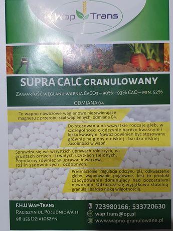 Wapno nawozowe kredowe magnezowe granulowane