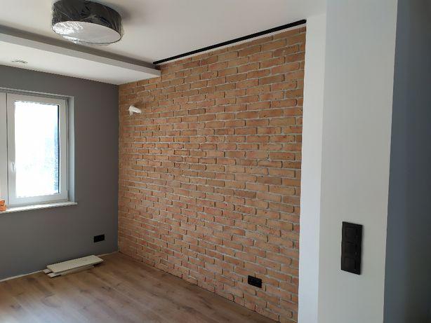 Stara Cegła na ścianę , jak rozbiórkowa ,jasna naturalna płytka
