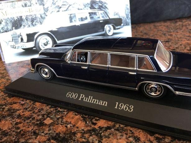 Машина Mercedes-Benz Pullman 600 W100 1963 limousine модель