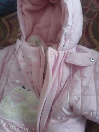 Комбінезон дитячий, детский комбинезон, осінь-зима, натуральна овчина