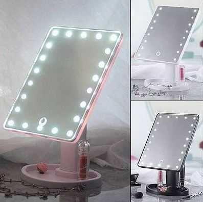 "Зеркало для макияжа с подсветкой ""Large LED Mirror"" 22диода+ЮСБ кабель"