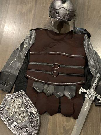 Дитячий костюм лицаря для хлопчика 7-8 років 128 / ігровий / рыцарь
