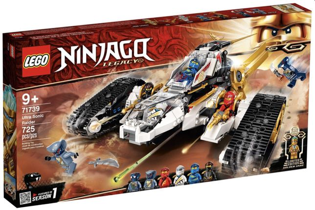 LEGO 71739 Ninjago - Pojazd ultradźwiękowy nowy