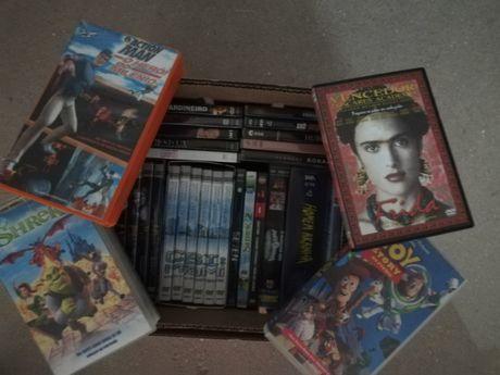 Lote de 34 Dvd's de Filmes e Séries