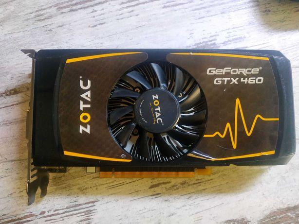 Видеокарта GeForce GTX 460 SE 1024MB не рабочая