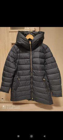 Granatowa kurtka zimowa C&A rozmiar 48