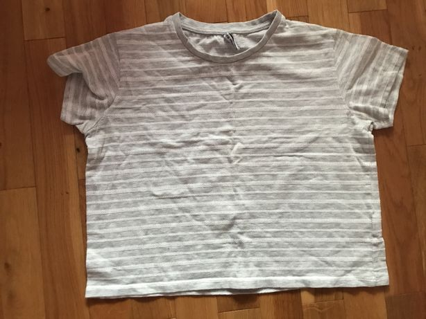 Koszulka tshirt krotka  dziewczeca damska Cropp s/m tania wysylka olx