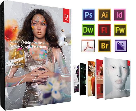 ADOBE MAC apple CS6 CREATIVE SUITE Design & Web Premium BOX!