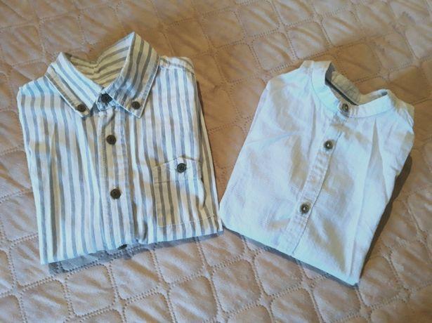 Camisas da Zara e ZY