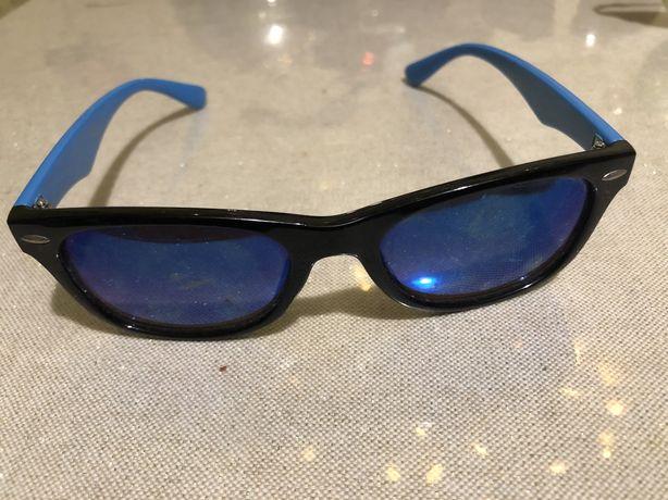 Очки сині