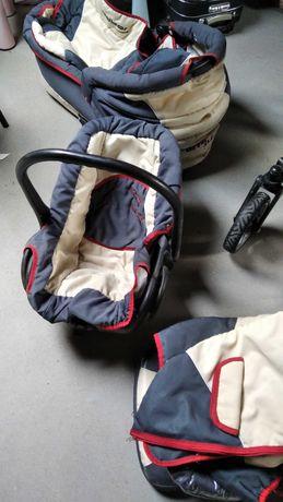 Wózek 3w1 gondola spacerówka nosidelko