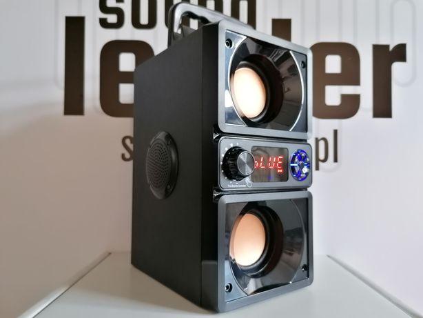Boombox głośnik bluetooth bezprzewodowy przenośny radio odtwarzacz MP3