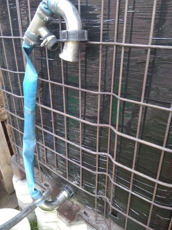 Mauzer zbiornik na wodę deszczówkę paletopojemnik