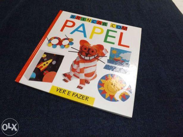 """Livro: """"Brincar com papel"""""""