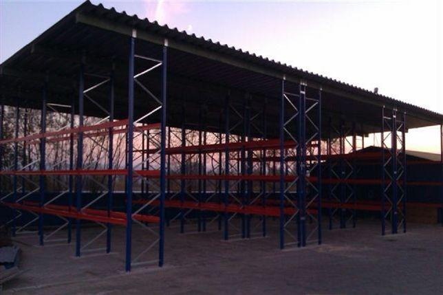 Wiata hangar magazyn konstrukcja stalowa hala garaż słup kratownica