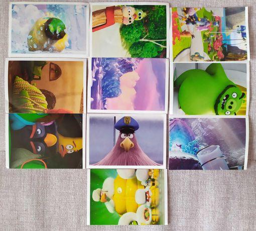 Várias colecções autocolantes (Angry Birds, Star Wars Force Attax etc)