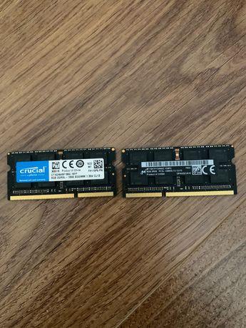 оперативная память Crucial 16 GB (2x8GB) SO-DIMM DDR3 для ноутбука