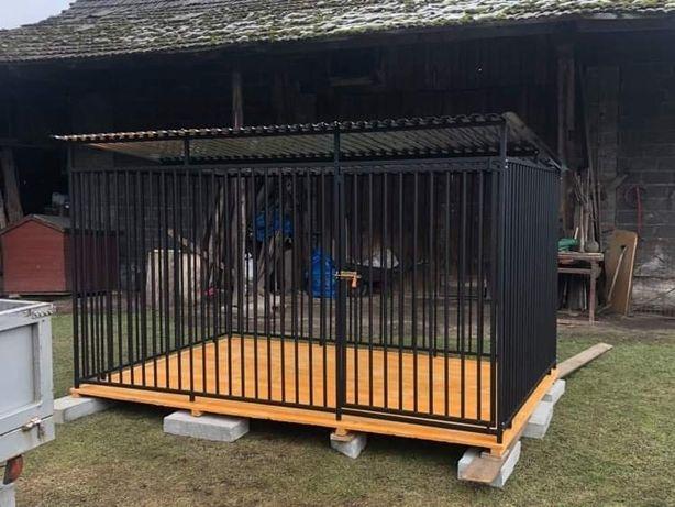 Kojec dla psa klatka box zagroda
