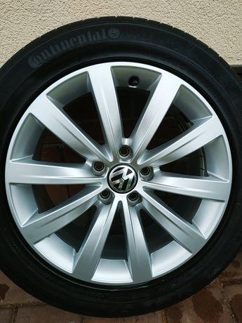 →Felgi Oryginal VW 17x7 5x112 golf 5 6 7 tiguan scirocco passat b8 cc