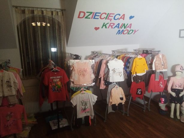 Nowe ubranka dziecięce, super jakość towar Polski i Turecki