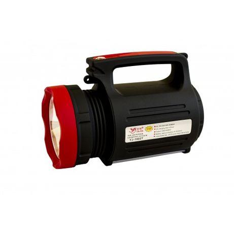 Фонарь ручной светодиодный Yajia YJ-1902T с солнечной панелью и USB