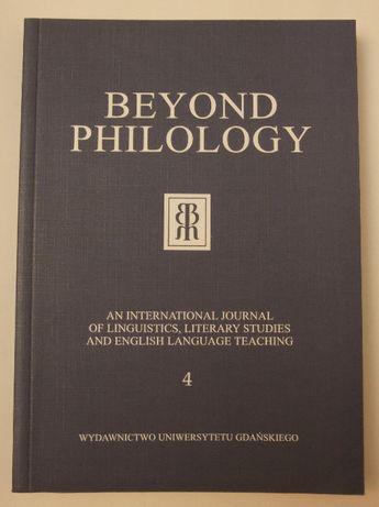 Beyond Philology nr 4, 5, 6 , 10
