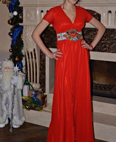 Сукня в українському стилі. Платье.