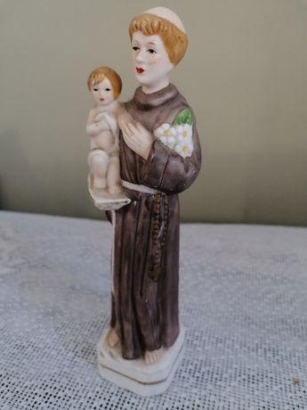 Porcelanowa figurka biskwitowa św. Antoni