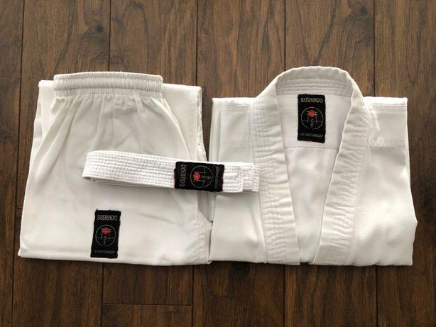 Kimono do karate, aikido, strój dla dziecka 130cm wys. Bushindo