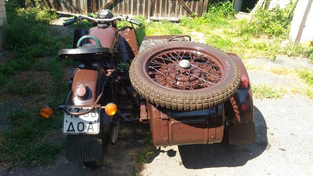 Продам мотоцикл Урал М 63