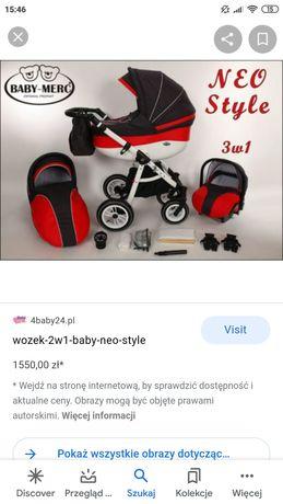 Wózek Baby Merc Neo 3w1