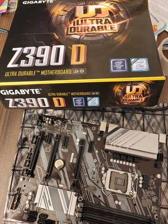 Płyta główna GIGABYTE z390 Z390D 6 PCIE do koparki ETH 1151