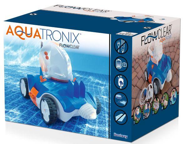 Robot aquatronix bestway 58482 nowy odkurzacz do basenu