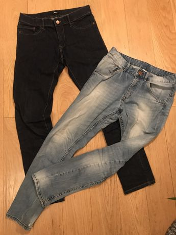 Spodnie jeans rozm 158, H&M, NAME IT