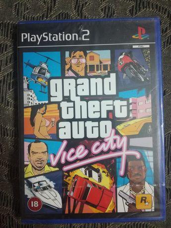 Grand Theft Auto : Vice City PS2 UK-PAL Selado