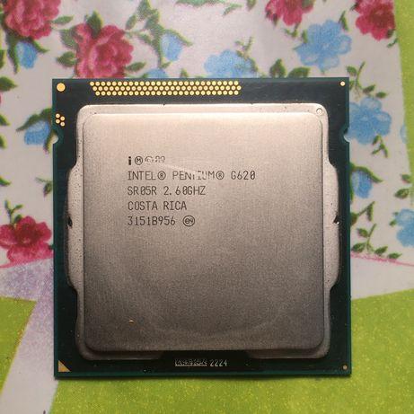 Intel Pentium G620, 2.60GHZ.
